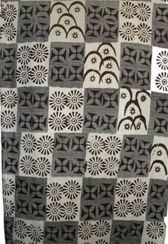 This is another great example of Adinkra cloth. It shows the different symbols that they use, and it uses different patterns as well. Tribal Patterns, Textile Patterns, Textile Prints, African Patterns, African Textiles, African Fabric, Peruvian Textiles, Adinkra Symbols, World Crafts