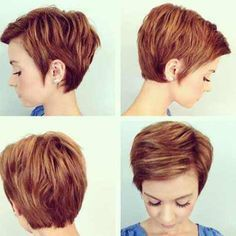 short layered pixie haircuts 2016