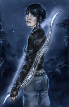 Thalia Grace, Hunter of Artemis by Kmaelan112