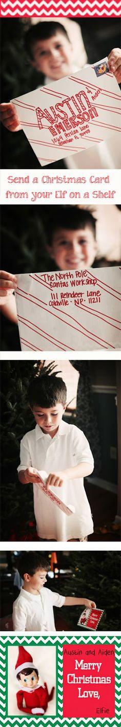 Cindy Emerson Photography: Elf on a Shelf Christmas Card...