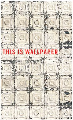 How much do you love an old tiled ceiling?Now you can have it in wallpaper :)