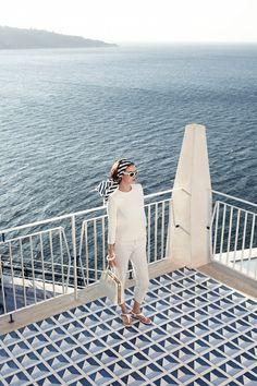 Summer style - white on white