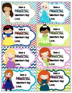 FREEBIE SUPERHERO AND PRINCESS VALENTINE CARDS - TeachersPayTeachers.com