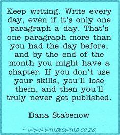 Quotable - Dana Stabenow - Writers Write Creative Blog