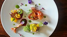 seafood dance - shrimps and salad by Uwe Spätlich | Flickr - Photo Sharing!