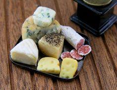 Cheese #Dollhouse #Miniature