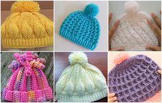 6 Beautiful Beanie Hat Tutorials - ilove-crochet