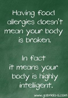 Food Allergies.
