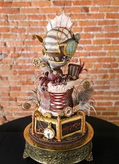 Cake Wrecks - Home - Sunday Sweets: Gettin' Geeky Wit It  Steampunk!