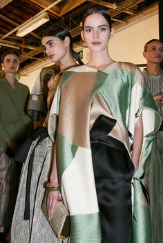 Armani Privé at Couture Spring 2015 (Backstage)