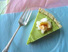 Avocado lime tart