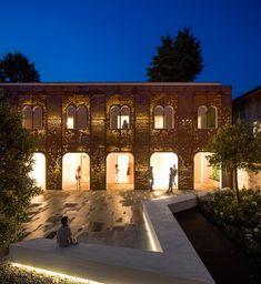 3ndy studio: rehabilitation of the campiello in palazzo di vigonovo, venice