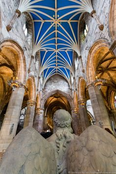 Interior of St Giles Cathedral Edinburgh, Scotland Edinburgh Travel, Edinburgh Scotland, Scotland Travel, Ireland Travel, London Travel, Scotland Trip, Highlands Scotland, Travel Europe, Christmas In Scotland