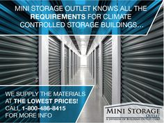 Indoor storage facilities are becoming more popular because they can offer climate controlled units.