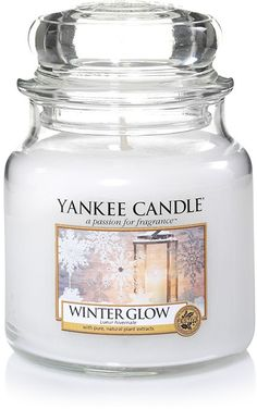 Lueur hivernale - Bougie moyenne jarre - Yankee Candle