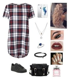 """Senza titolo #210"" by pinialepini on Polyvore featuring moda, Lipsy, Christian Dior, David Yurman, Ice, Kenneth Cole, Poverty Flats e adidas"