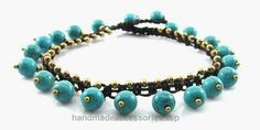 MGD, Round Blue Turquoise Color Bead Anklet, Handmade Fashion Jewelry For Women, Teens and Girls, JB-0175A  Check It Out Now     $12.99    Handmade Product, slightly variations in Colours, Sizes and/or Pattern are expected. Please search for more colours a ..  http://www.handmadeaccessories.top/2017/03/19/mgd-round-blue-turquoise-color-bead-anklet-handmade-fashion-jewelry-for-women-teens-and-girls-jb-0175a/