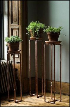 Create the best plant stand that will make your house greener and more beautiful. Here are the simple and easy DIY Plant Stand Ideas you can create at home. Indoor Garden, Indoor Plants, Home And Garden, Herb Garden, Outdoor Gardens, Diy Plant Stand, Plant Stands, Tall Plant Stand Indoor, Deco Nature