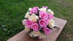 RUSTIC BRIDE BOUQUET New Style Wedding Bouquet by moniaflowers