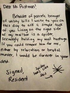 XD.  I would totally do this. Genius! A.N I'm scared to death of spiders