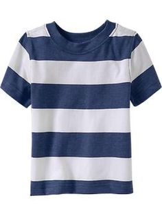 Kyler's shirt Striped Crew-Neck Tees for Baby