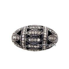 Metal: plata de ley 92,5% Piedra de la gema: Diamante Natural Peso bruto: 7,72 gramos 92,5 peso de plata de ley: 7,40 gramos Peso diamantes: 1,62 quilates Tamaño: 24 x 14 mm Final: Rodio negro Tipo de cantidad: 1 PC.
