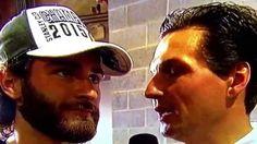 BRANDON SAAD INTERVIEW CHICAGO BLACKHAWKS BEFORE 2015 STANLEY CUP CHAMPI...