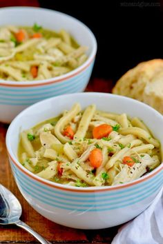 This is the best homemade chicken noodle soup recipe. It is made totally from scratch and so it is rich, delicious, and totally comforting
