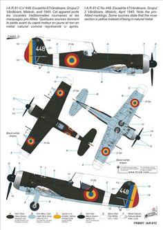 ルーマニア空軍 Ww2 Aircraft, Military Aircraft, Luftwaffe, War Thunder, Aircraft Painting, Ww2 Planes, Aviation Art, World War I, Wwii