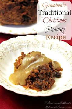 Traditional Christmas Pudding Recipe How to make a traditional British Christmas pudding in a double boiler or a more modern method (no, not the Slow Cooker) the Instantpot! This recipe is easy, and includes a gluten free option. Pudding Recipes, Snack Recipes, Dessert Recipes, Cooking Recipes, Steamed Carrot Pudding Recipe, Delicious Desserts, Christmas Treats, Christmas Baking, Christmas Holiday