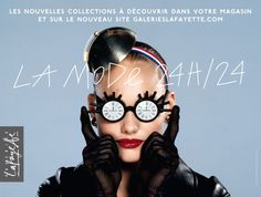 Galeries Lafayette - La mode 24h/24 All Fashion, Fashion News, Fashion Brands, Fashion Show, Marie Claire, Monsieur Jean, Jean Paul Goude, Paris Shopping, Bw Photography