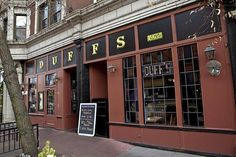 Duff's, a classic Central West End hangout inside and out. - LAURA MILLER