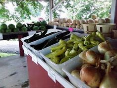 Lancaster County, PA, roadside farmer's markets are everywhere and stocked all summer and fall