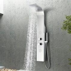 pommeau de douche set de douche cascade mitigeur mural Pommeau de douche cach/é robinet de salle de bain