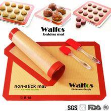 WALFOS não-vara silpat silicone esteira de cozimento silpat mat pastelaria forno liner bolinho Macaron silpat folha de fibra de vidro de cozimento(China (Mainland))