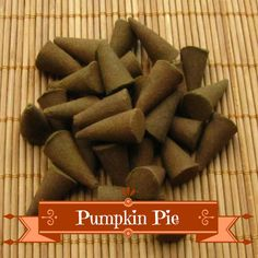 Pumpkin Pie Incense Cones