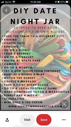 Creative Date Night Ideas, Romantic Date Night Ideas, Cute Date Ideas, Date Ideas For New Couples, Date Ideas Jar, Romantic Surprise, Fun Ideas, Ideas For Date Night, Romantic Boyfriend Birthday Ideas