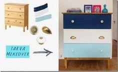 [DIY] Ikea Tarva: trasformazione, relooking cassettiera, stile nautico