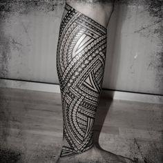tribal print thigh tattoos | Machine_LG_002-leg-tatau-samoa-thigh-calf-bein-tribal-tattoo-tomasi ...