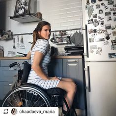 #LifeGoesOnWheels @chaadaeva_maria #WheelchairGirl #WheelchairLife #Wheelchair #Photography #Beautiful #Fashion #MakeUp #Hair #Outfit #Overcoming #Disability #Motivation #NeverGiveUp Gifts For Elderly Women, Wheelchair Photography, Gifts For Seniors Citizens, Grandparents Day Gifts, Grandparent Gifts, Long Leg Cast, Beautiful People, Beautiful Women, Photo Finder