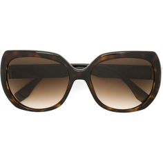 Fendi tortoise shell sunglasses (€295) ❤ liked on Polyvore featuring accessories, eyewear, sunglasses, brown, tortoise shell sunglasses, fendi glasses, oversized tortoise sunglasses, gradient lens sunglasses and acetate glasses