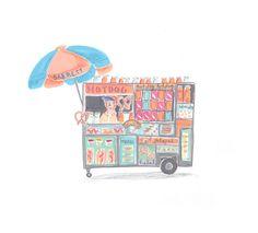 Travel Drawings - Emma Block Illustration