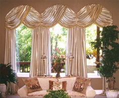 Awesome Arched Window Treatments Ideas 1000 Ideas About Arched Window Coverings . Arched Window Coverings, Curtains For Arched Windows, Arched Window Treatments, Custom Window Treatments, Bay Windows, Arch Windows, Windows Decor, Swag Curtains, Burlap Curtains