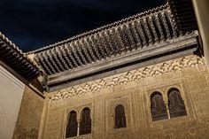 Moon over The Alhambra - Granada, Spain