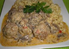 Hungarian Recipes, Pork Dishes, Meat Recipes, Bacon, Food And Drink, Beef, Chicken, Ethnic Recipes