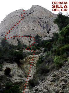 Vía Ferrata Silla del Cid - Petrer