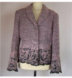 Minuet Size 12 Pink & Grey Smart Jacket Smart Jackets, Pink Grey, Size 12, Blouse, Long Sleeve, Sleeves, Tops, Dresses, Women