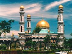 jame Mosque in brunei darussalam