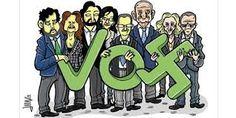 Resultado de imagen de viñetas critica politica