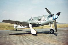 Fw190D ~ Finest piston-engined German fighter of WW II. Max. speed of 426 mph @ 22,000 ft.